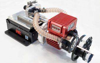 Rob-E-Unit Industrieschleifer an 3M Kontaktflansch